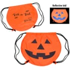 Party Time™ Drawstring Backpack- Pumpkin