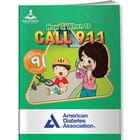 How & When To Call 911 Activity Book & Stickers