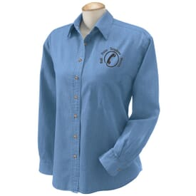 Ladies' Harriton Denim Shirt