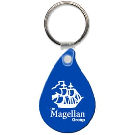 High Gloss Key Tag- Droplet