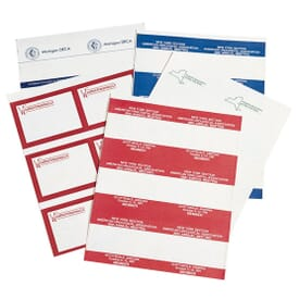 Printed Laser Insert Cards