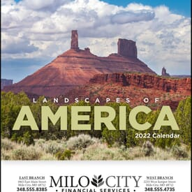 Landscapes of America Calendar - Mini