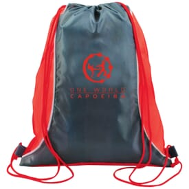 Gym-Time Drawstring Backpack