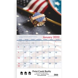 American Staple Wall Calendar