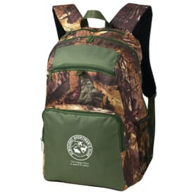 Rugged Camo Backpack