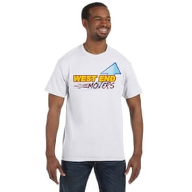 Hanes® Tagless® ComfortSoft® T-Shirt – Full Color
