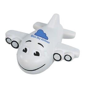 Stress Balls Group 3 Smiley Plane 2 Day Service