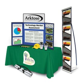 Crestline Exclusive 4' Tradeshow-To-Go