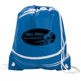 Splash Non-Woven Drawstring Backpack (Closeout)