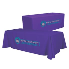 8ft Convertible Table Throw - Two Color Thermal Imprint