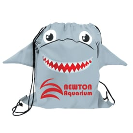 Paws 'N Claws Drawstring Backpack – Shark