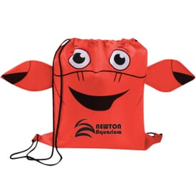 Paws 'N Claws Drawstring Backpack – Crab