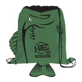 Paws 'N Claws Drawstring Backpack – Bass