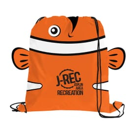 Paws 'N Claws Drawstring Backpack – Clownfish