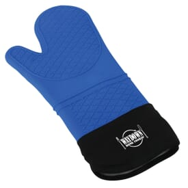 Lined Silicone Oven Mitt