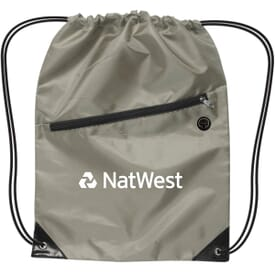Pinnacle Nylon Drawstring Backpack