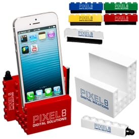 Logo Blox™ Phone Stand/Stylus/Cleaner Set