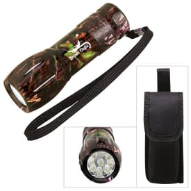 Camouflage Mini Aluminum Flashlight