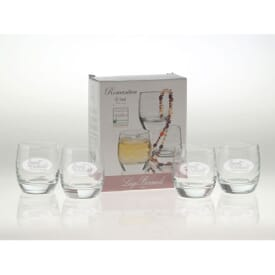 Charming Four Piece Double Old Fashion Gift Set