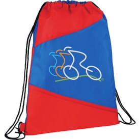 Banner Drawstring Backpack
