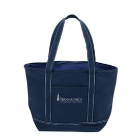 Zippered Solid Color Cruise Tote