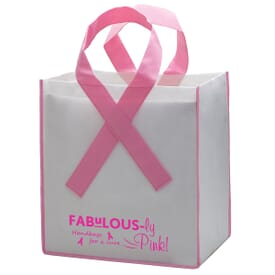 Awareness Ribbon Grocery Tote