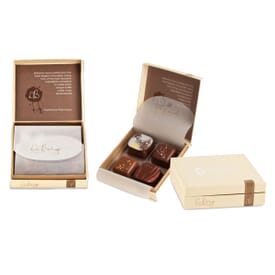 Studio 761 Collection- 4 Piece Belgian Chocolate Gift Box