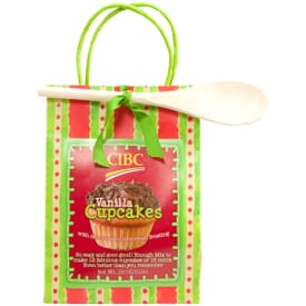 Vanilla Flavored Branded Cupcake Mix