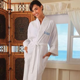 Seville Collection Waffle Robe