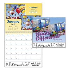 Spotting Differences Calendar
