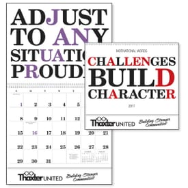 Encouraging Words Calendar