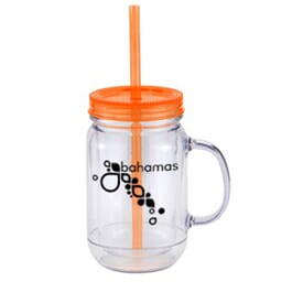 20 oz Crackerjack Mason Tumbler