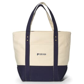 Zippered Oceanfront Tote