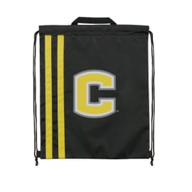 Dual Stripes Drawstring Backpack