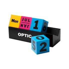 MoMA Daily Cube Multi-Color Infinite Calendar