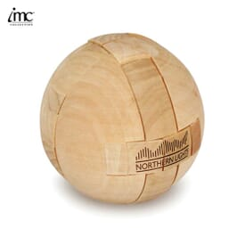 Wooden Puzzle Ball
