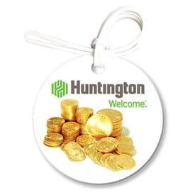 Soft-Color™ Economy Large Round Bag Tag