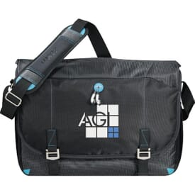 Zoom™ Checkpoint-Friendly Compu-Messenger Bag