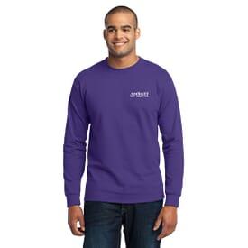 ON SALE-Port & Company® Long Sleeve 50/50 Cotton/Poly T-Shirt - Unisex