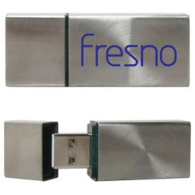 1 Gb Silverlight Usb Flash Drive