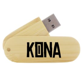 8GB Wood Grain USB Flash Drive