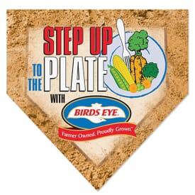 Home Plate Floor Mat 28 X 28
