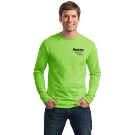 ON SALE-Hanes® Tagless® 100% Cotton Long Sleeve T-Shirt