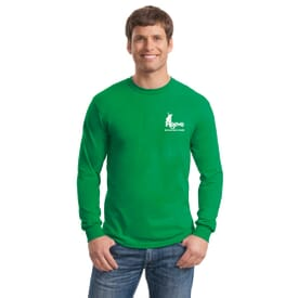 ON SALE-Gildan® Heavy Cotton™ 100% Cotton Long Sleeve T-Shirt