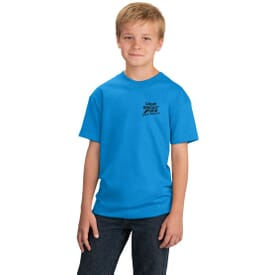 ON SALE-Port & Company® 5.4 Oz 100% Cotton T-Shirt - Youth