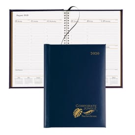 Presidential Weekly Planner- Gold Foil
