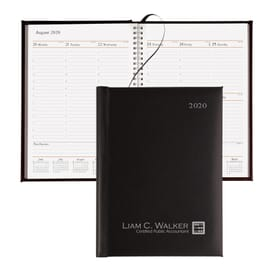 Presidential Weekly Planner- Silver Foil