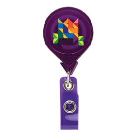 Oversized Rounded Badge Reel