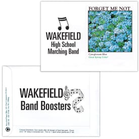 Impression Series Seed Packet- Forget-Me-Not Blue