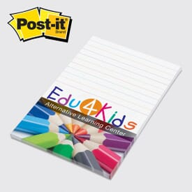 Post-It® Custom Printed Notes 4 X 6 - 2 Day Service